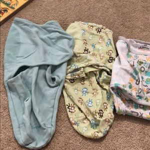 SwaddleMe small and large